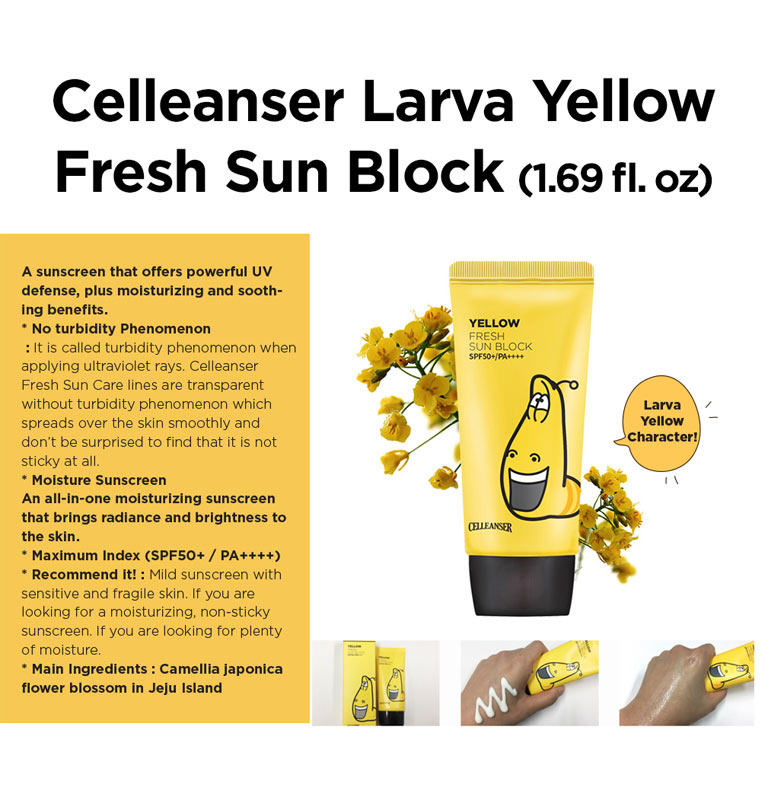 Kết quả hình ảnh cho CELLEANSER SUN BLOCK